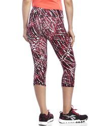 Marc New York | Pink Cropped Performance Leggings | Lyst