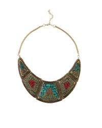 AKIRA - Multicolor Rajmata Necklace - Lyst