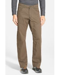 Arc'teryx Brown 'bastion' Relaxed Fit Canvas Pants for men