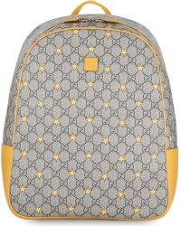 Gucci Gray Large Star Backpack