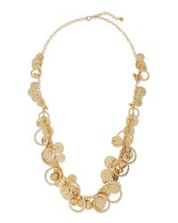R.j. Graziano - Metallic Shaky-coin Layering Necklace - Lyst