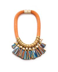 Holst + Lee | Orange Holst Lee Miranda Forever Necklace | Lyst