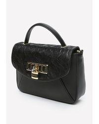 Bebe | Black Vergara Lace Crossbody Bag | Lyst