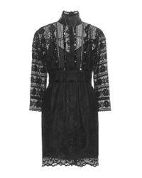 Marc Jacobs - Black Lace Dress - Lyst