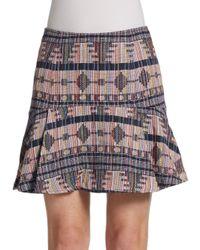 Greylin - Multicolor Crysta A-line Tulip Skirt - Lyst