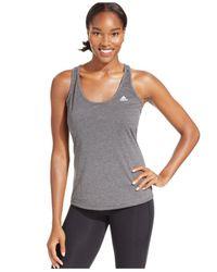 Adidas | Gray Climacool® Aeroknit Tank Top | Lyst