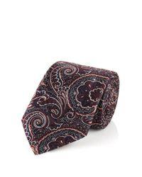 BOSS Red 'tie 7.5 Cm' | Regular, Silk Paisley Tie for men