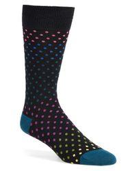 Paul Smith Black Dot Socks for men