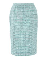 Eastex Blue Turquoise Tweed Skirt