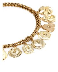 Lulu Frost - Metallic Victorian Plaza Charm Necklace - Lyst