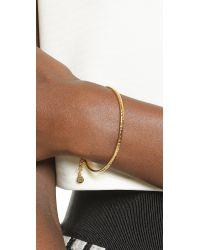 Gorjana | Metallic Taner Loop Chain Bracelet - Gold | Lyst