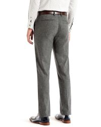 Ted Baker Gray Illitro Modern Fit Suit Trousers for men
