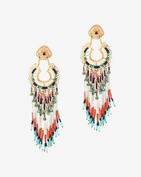 Gas Bijoux - Multicolor Apache Beaded Chandelier Earrings - Lyst