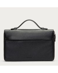 Bally Magus Men ́s Leather Travel Wallet In Black for men