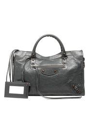 Balenciaga | Gray Classic City | Lyst