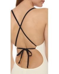 Solid & Striped - Natural Alexandra One Piece Swimsuit - Lyst