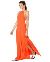 Nasty Gal Red Flame Game Dress