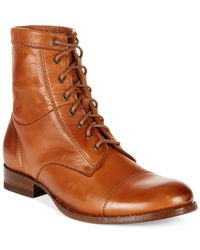 Frye - Brown Women's Erin Work Booties - Lyst