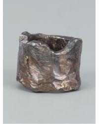 Alice Waese - Metallic Mertes Ring for Men - Lyst