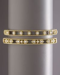 Penny Preville - Yellow Diamond Station Bangle - Lyst