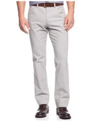 INC International Concepts | Gray Walter Five-pocket Pants for Men | Lyst