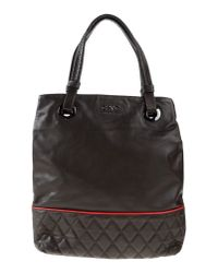 CoSTUME NATIONAL - Brown Handbag - Lyst