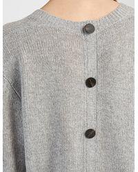 JOSEPH | Gray Spring Cashmere V Neck Cardigan Sweater | Lyst