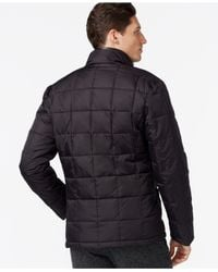 Cole Haan - Black Quilted Jacket for Men - Lyst