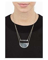 Pamela Love - Metallic Sterling Silver Chasm Necklace - Lyst