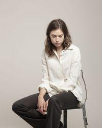 Satomi Kawakita | Metallic Half Round Necklace | Lyst