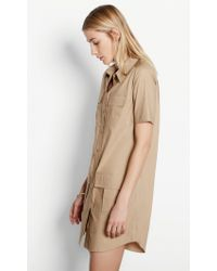 Equipment Natural Remy Utility Dress