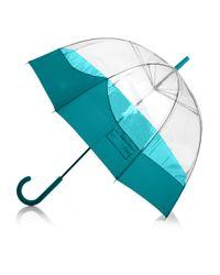 HUNTER Blue Bubble Umbrella