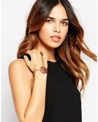 ASOS | Metallic Statement Farrah Hand Harness | Lyst