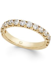 Macy's | Metallic Diamond Pave Band (1 Ct. T.w.) In 14k Gold | Lyst