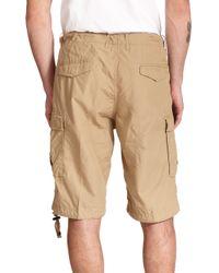 DIESEL - Natural Cargo Shorts for Men - Lyst