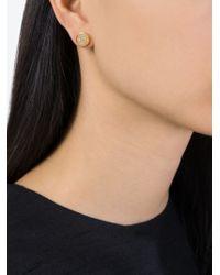 Marc By Marc Jacobs | Metallic ':(' Stud Earrings | Lyst