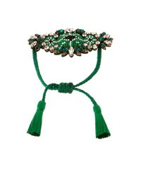 Shourouk | Green Bora Amerindien Bracelet | Lyst