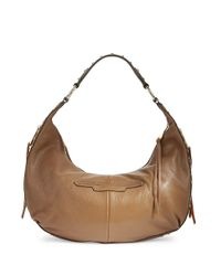 Aimee Kestenberg | Brown Jetta Pebbled Leather Hobo Bag | Lyst