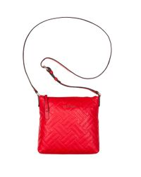 Cole Haan | Red Hollis Leather Crossbody Bag | Lyst