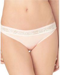 Calvin Klein | Pink Modern Signature Lace Bikini Panties | Lyst
