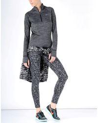 Nike | Gray Dri-fittm Element Half Zip | Lyst
