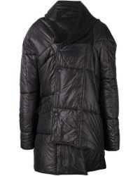Vivienne Westwood | Black Padded Blanket Coat for Men | Lyst