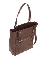 Alessandro Dell'acqua - Brown Handbag - Lyst