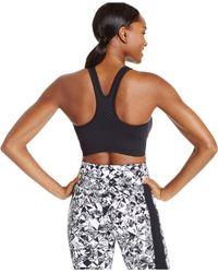Nike | Black Dri-fit Seamless V-back Sports Bra | Lyst