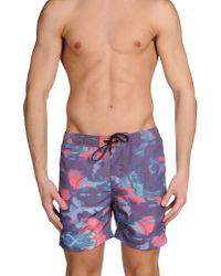 ELEVEN PARIS - Purple Swimming Trunks for Men - Lyst