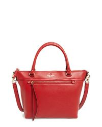 kate spade new york | Gray 'cobble Hill - Small Gina' Leather Tote | Lyst