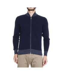Armani Jeans - Blue Sweater for Men - Lyst