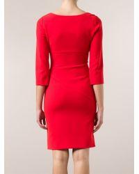 Diane von Furstenberg Red 'Bevin' Dress