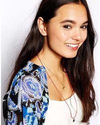 ASOS | Multicolor Arrow Stud Earrings | Lyst
