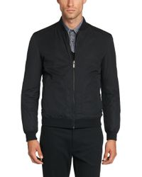 HUGO - Black Reversible Jacket In Water-repellent Fabric: 'bevery1' for Men - Lyst